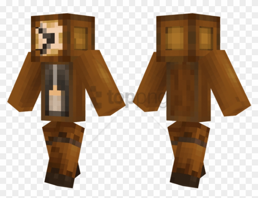 Free Png Download Green And Black Minecraft Skins Png - Minecraft Puppet Fnaf Skin Clipart #1432284