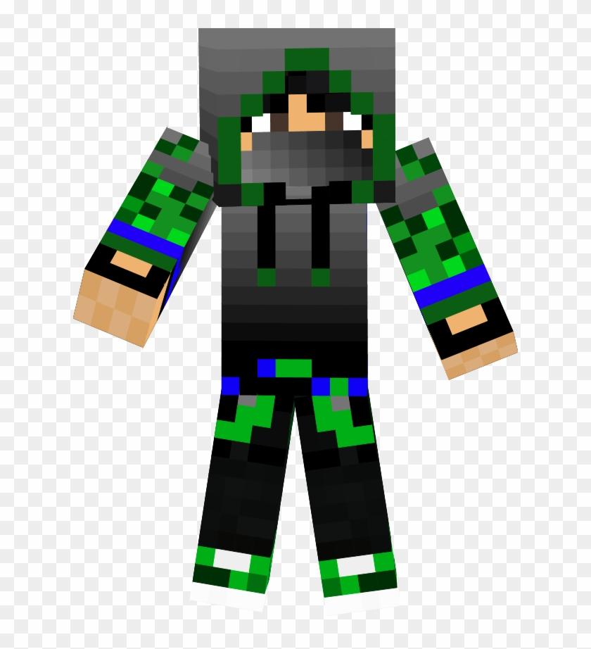 The Green Ninja - Skin De Minecraft De Ninja Clipart #1432327