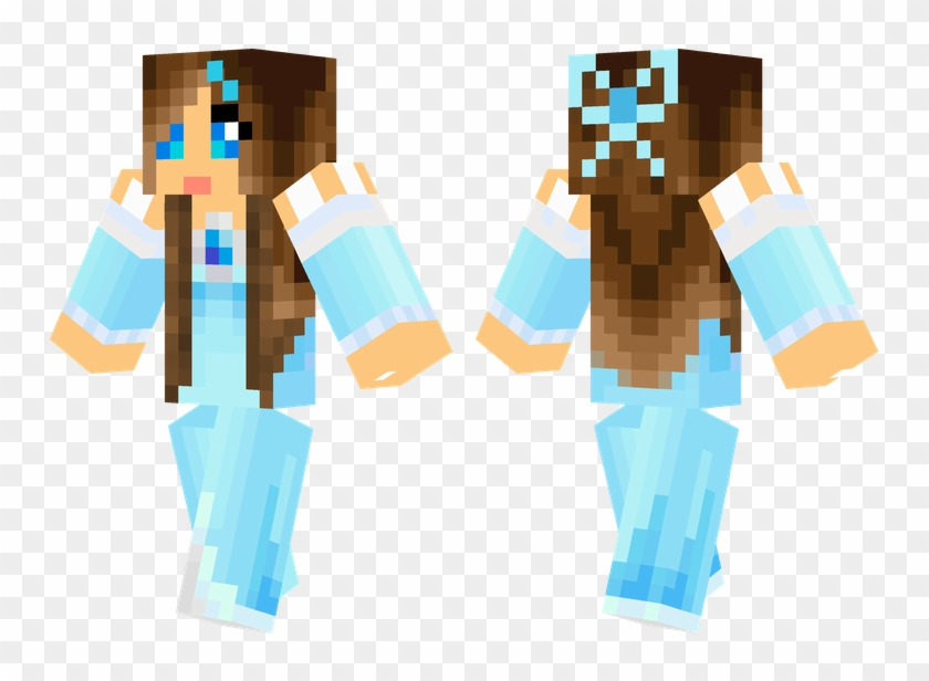 Ice Princess Minecraft Skins Cool, Minecraft Food, - Skin Minecraft Fille Princesse Clipart #1433333