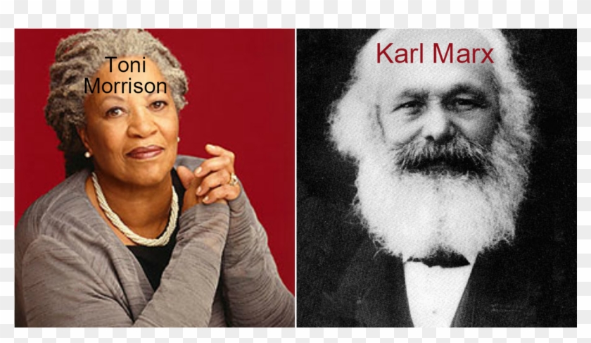 Toni Morrison Was The Writer Of Beloved - Karl Marx Seize The Means Of Production Clipart #1441857