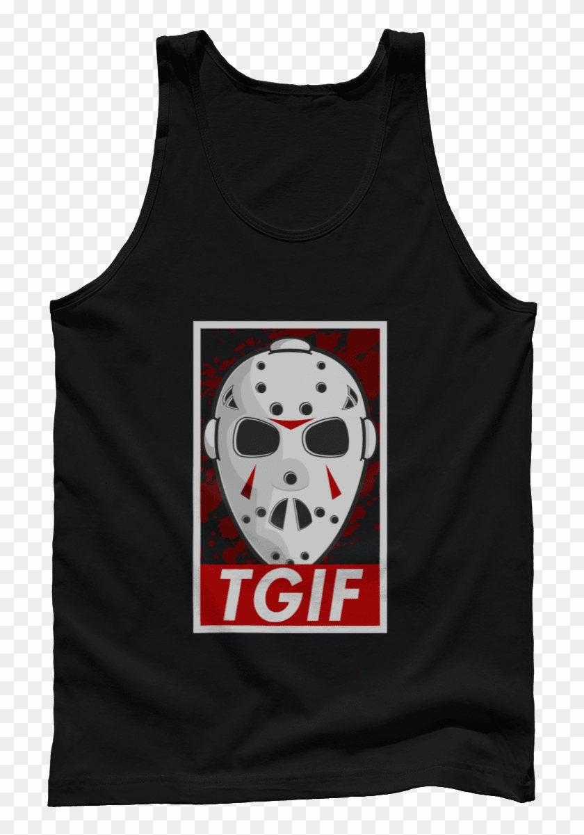 Friday The 13th - Active Tank Clipart #1443446