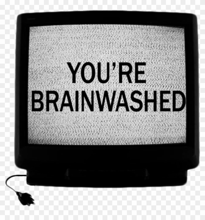 #brainwashed #static #tv #goth #aesthetic - You Ve Been Brainwashed Clipart #1444506