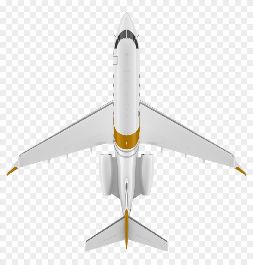 1430 X 1430 15 - Aeroplane Top View Png Clipart #1455507