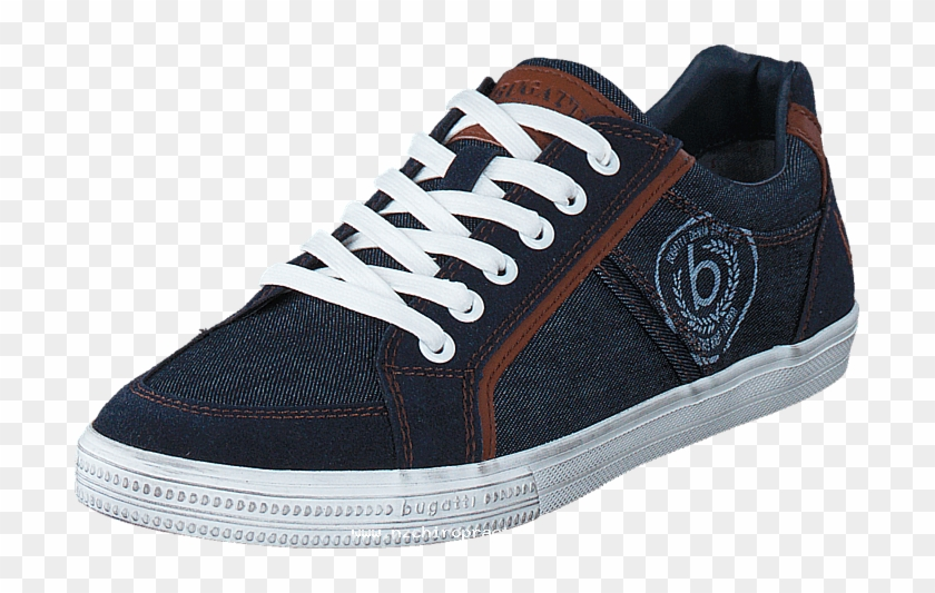 Bugatti 06k4801 Navy 58477-00 Mens Textile Rubber Trainers - Mens Sports Shoes Png Clipart #1460308