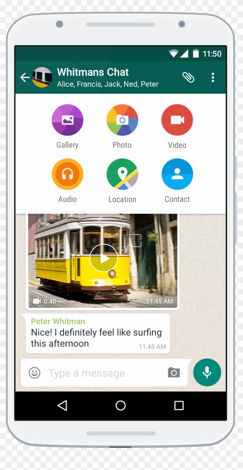 What Is Whatsapp - Comment Envoyer Une Musique De Mon Iphone Sur Whatsapp Clipart #1461784