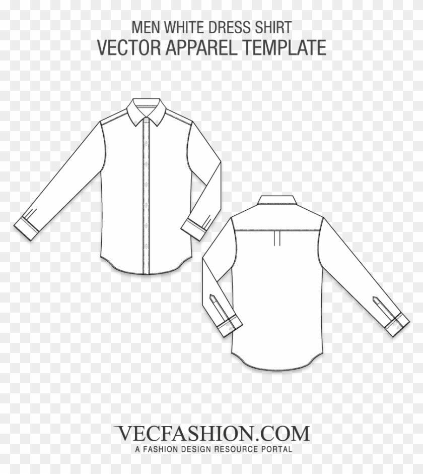 Graphic Freeuse Download Work Shirt Template Ukran - Shirt Vector Flat Design Clipart #1462978