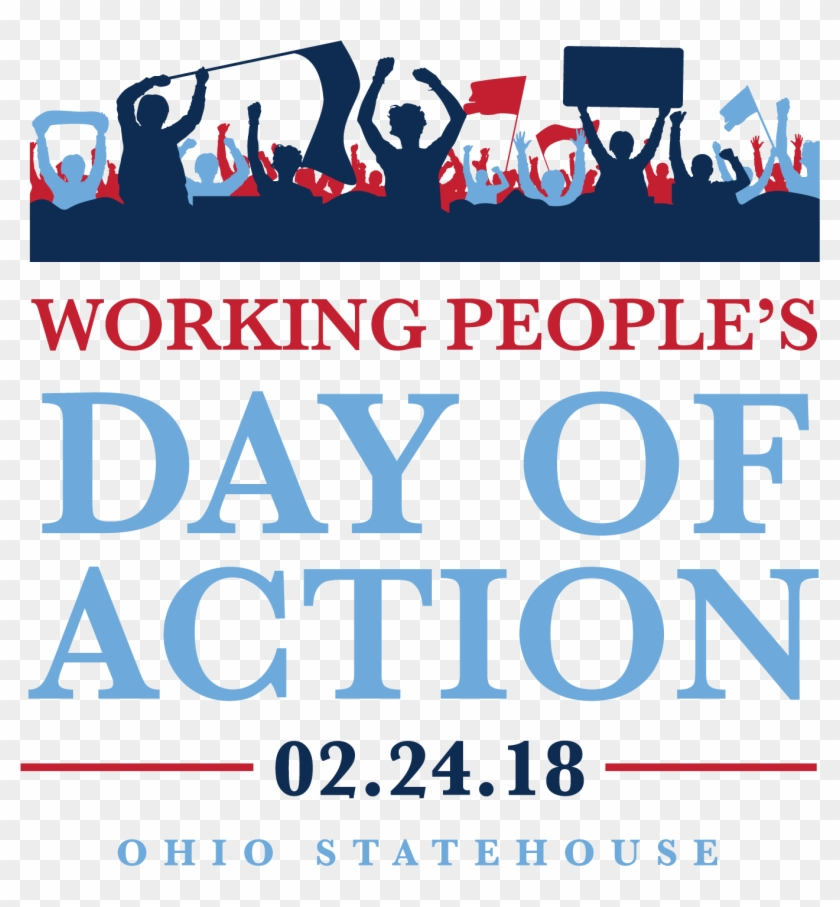 Mark Your Calendars To Participate In The Working People's - Working Peoples Day Of Action Clipart #1463400