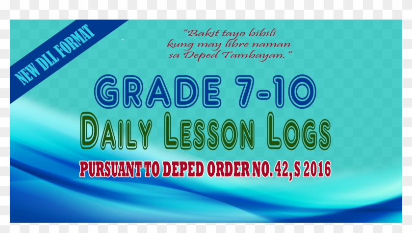 New Ready Made Dll For Grades 7-10 - Graphic Design Clipart #1464226