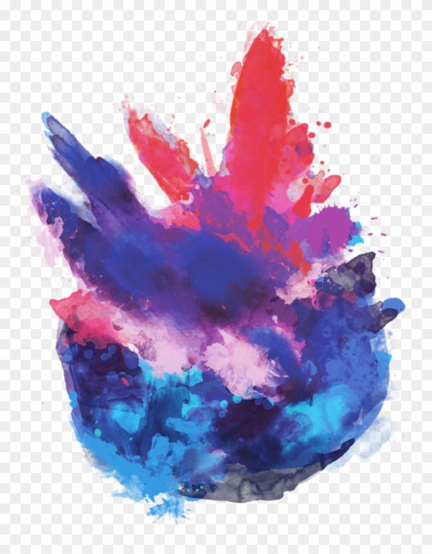 Png Colour Splash - Transparent Colour Png Picsart Clipart #1466284