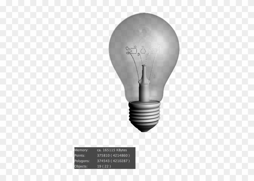Incandescent Light Bulb Clipart #1467162