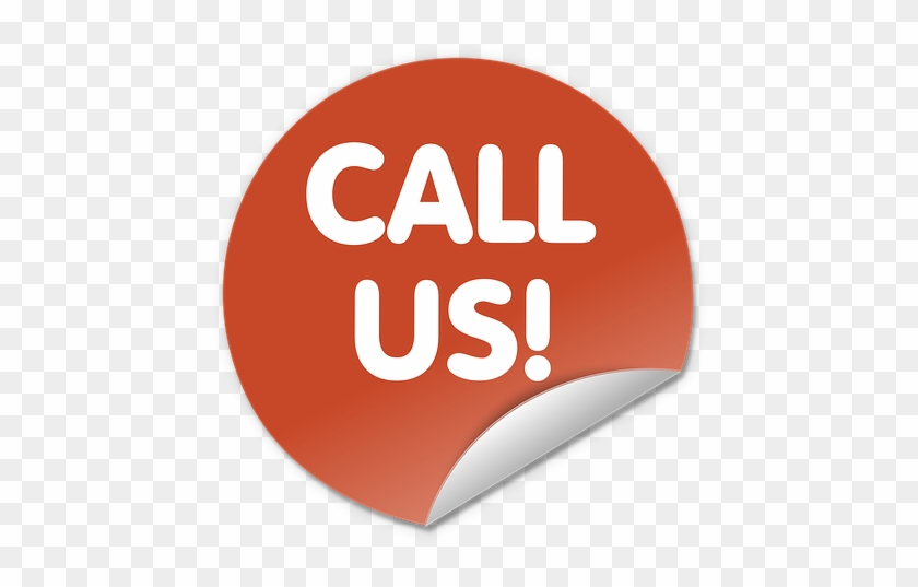 Call Us Now - Contact Us Button Png Clipart #1468005