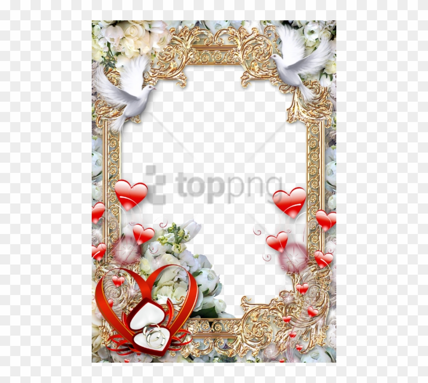 Free Png Download Wedding Photo Frame Png Images Background - Wedding Photo Frames Png, Transparent Png #1472716
