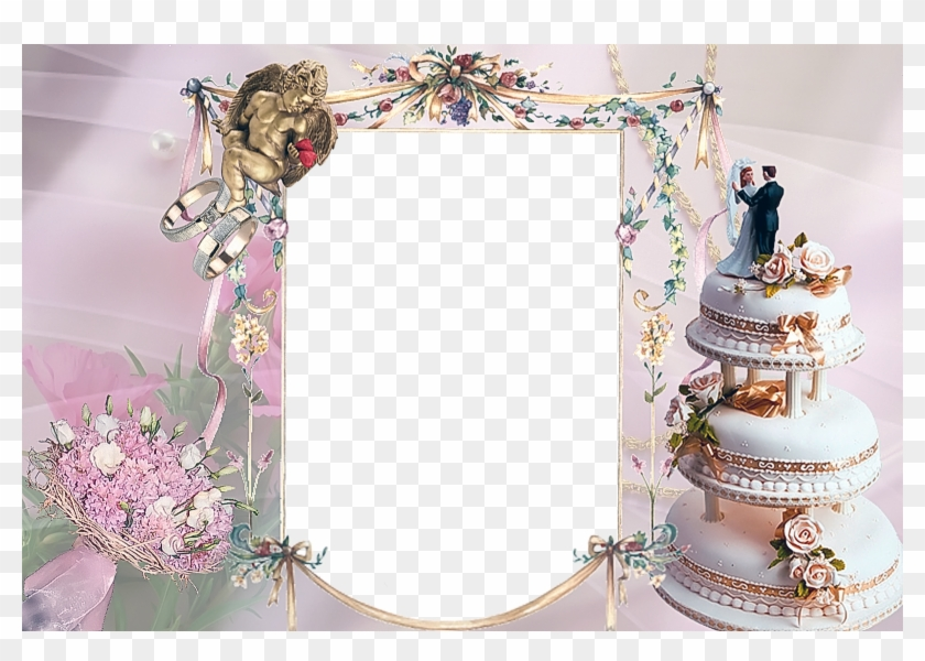 New Photo Album Frame Latest Karizma Album Templates - Wedding Photo Frames Psd Free Download, HD Png Download #1473811