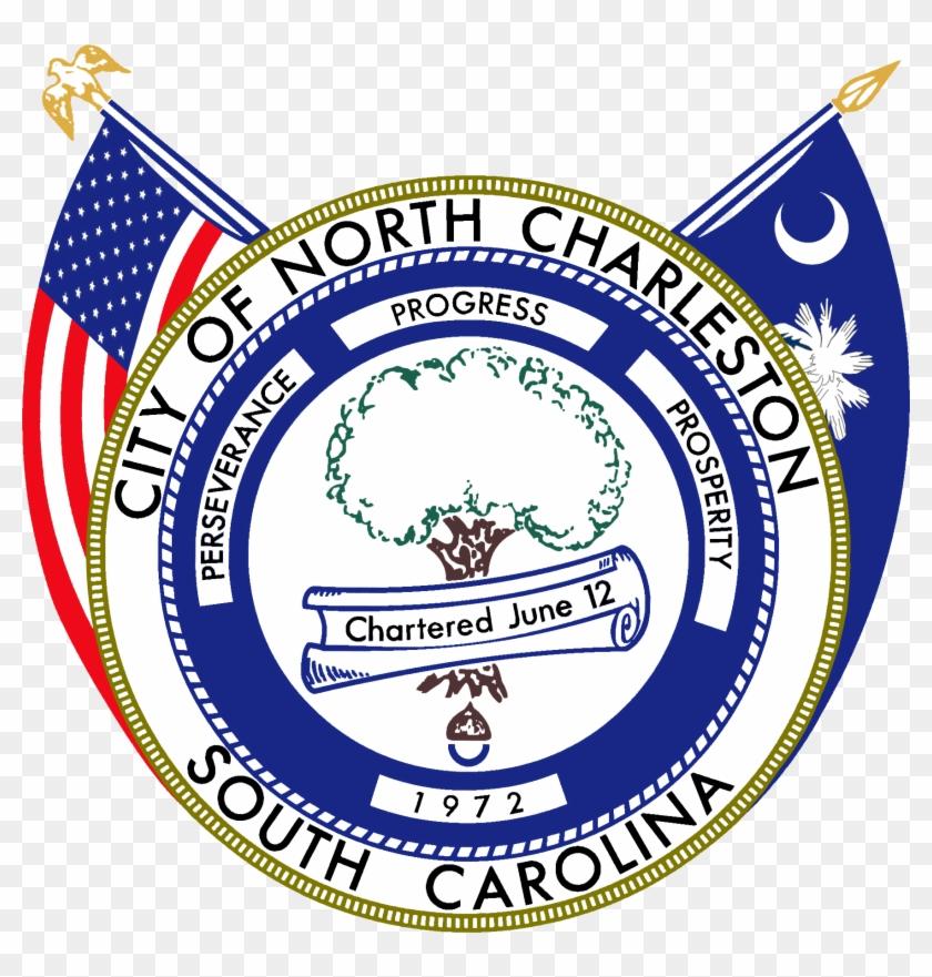 Seal Of North Charleston, South Carolina - North Charleston Seal Clipart #1474569