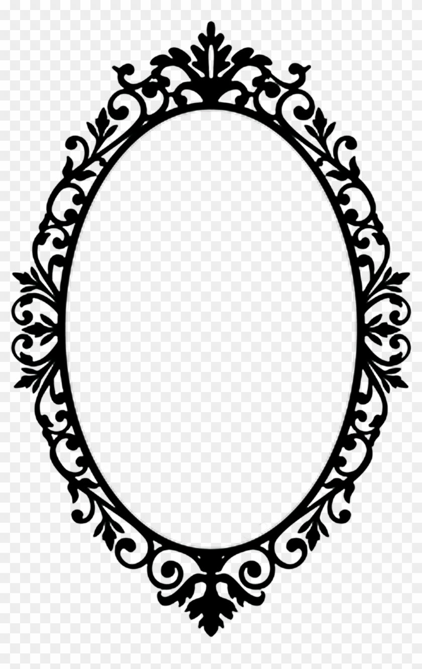 Oval Clipart Oval Victorian Frame - Oval Vintage Frame Png ...