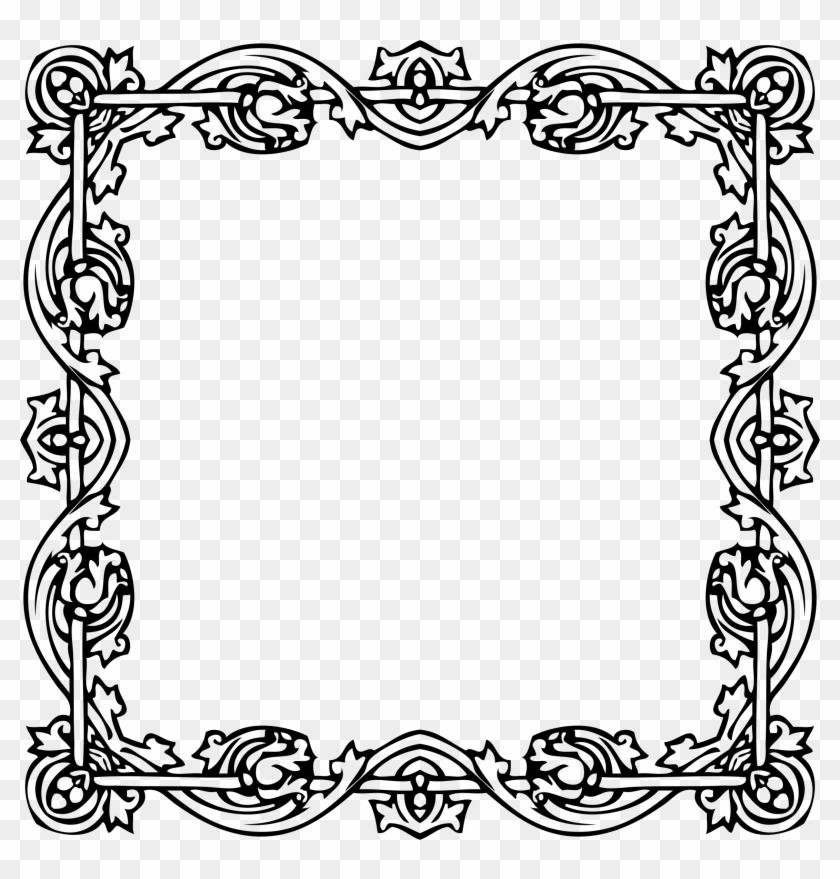 15 Victorian Border Frame Png For Free On Mbtskoudsalg Victorian Frame Clip Art Transparent Png 1485253 Pikpng