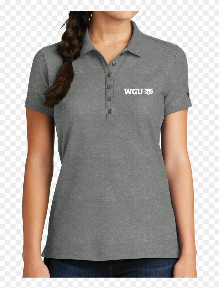 New Era® Ladies Venue Home Plate Polo - Polo Shirt Clipart #1486520