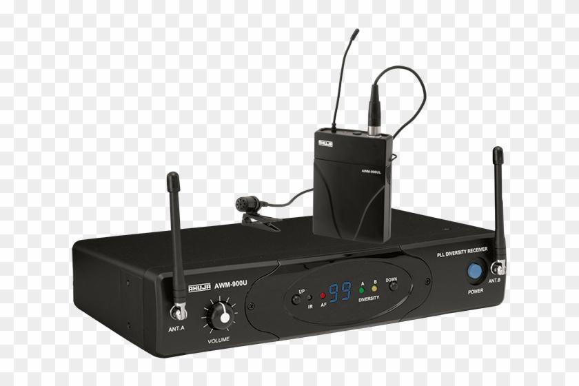 Pa Uhf Wireless Microphone - Ahuja Awm 900uh Clipart #1486781
