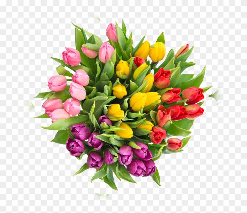 Fiori 18 Anni.Tulip Bouquet Fiori Per Un Compleanno 18anni Clipart 1489513