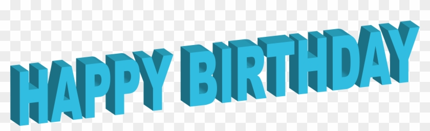 8000 X 2132 13 - 3d Happy Birthday Png Clipart #1492808