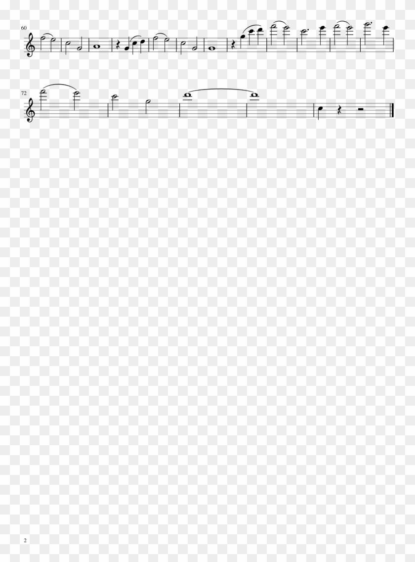 Zootopia-flute Sheet Music Composed By Michael Giacchino - Sheet Music Clipart #1497075