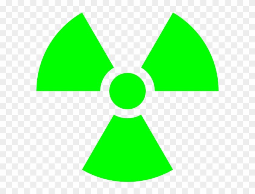 600 X 600 6 - Radioactive Symbol Png Clipart #1497120