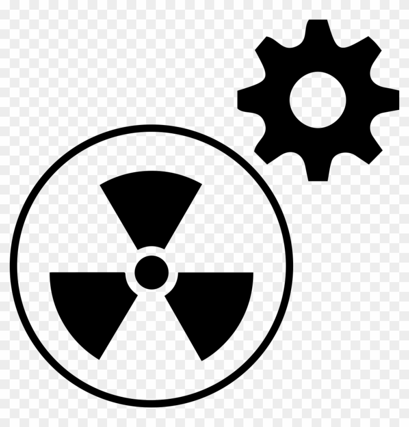 Png File - Radioactive Symbol Clipart #1498126