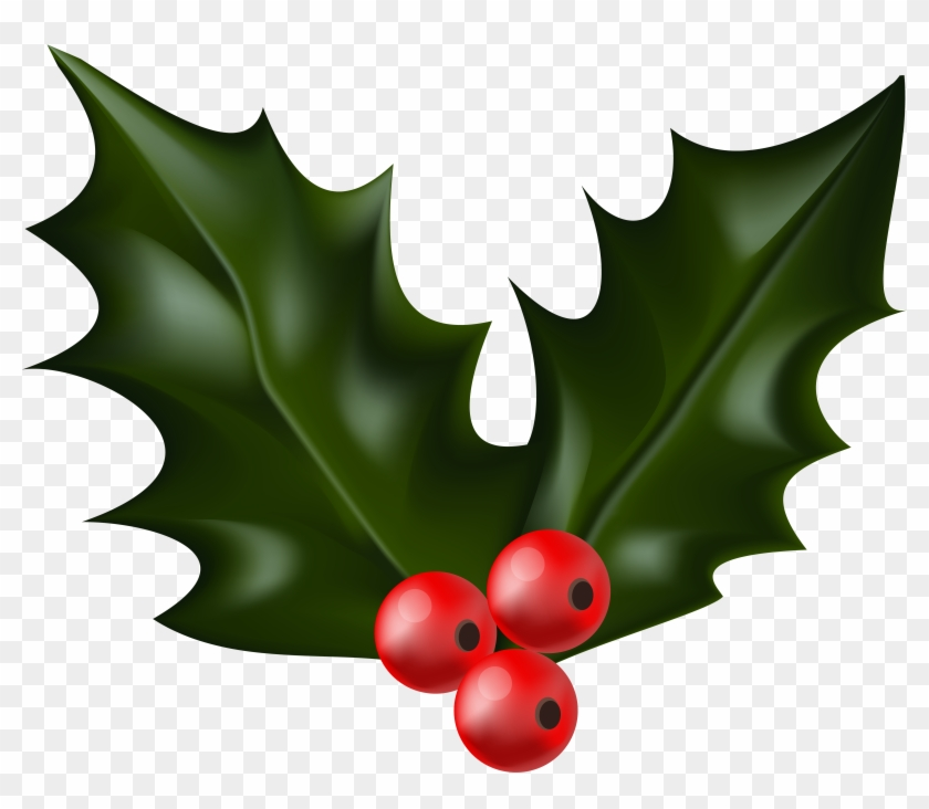 Christmas Png Clip Art Gallery Yopriceville View - Christmas Holly Transparent Background #153577