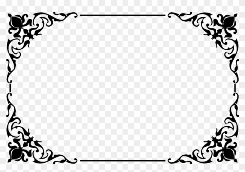 Free Png Decorative Border Png Png - Wedding Card Png Clipart, Transparent Png #154258