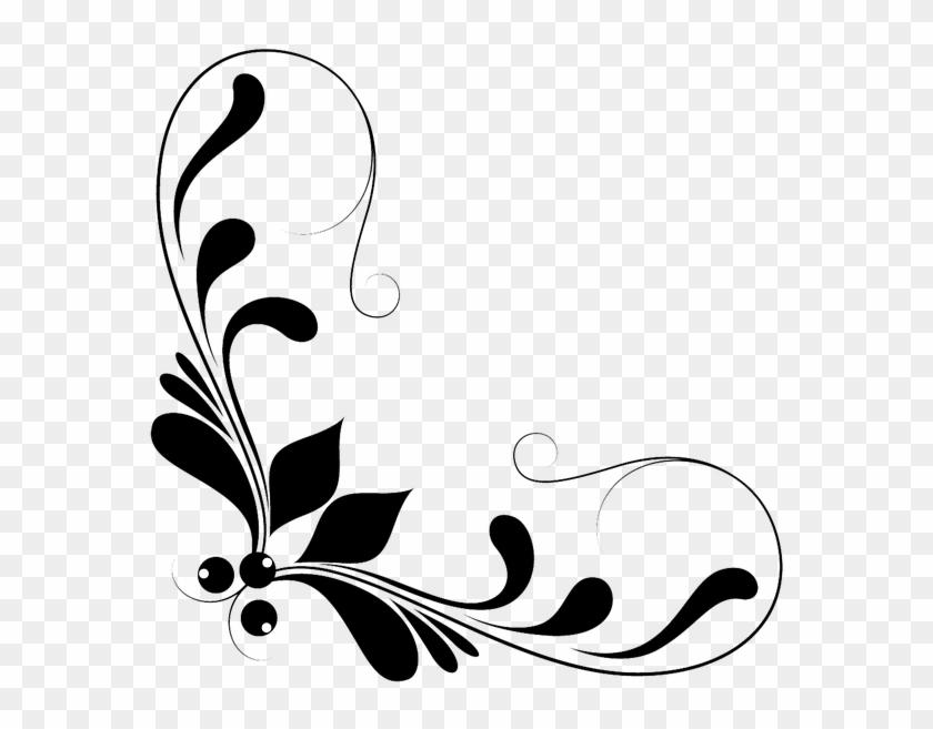 Gold Corner Border Png - Decorative Lines Clip Art Png Transparent Png #156118