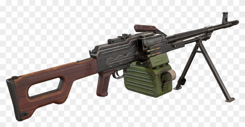 Anton Plswe - Pk Machine Gun Png Clipart #157328