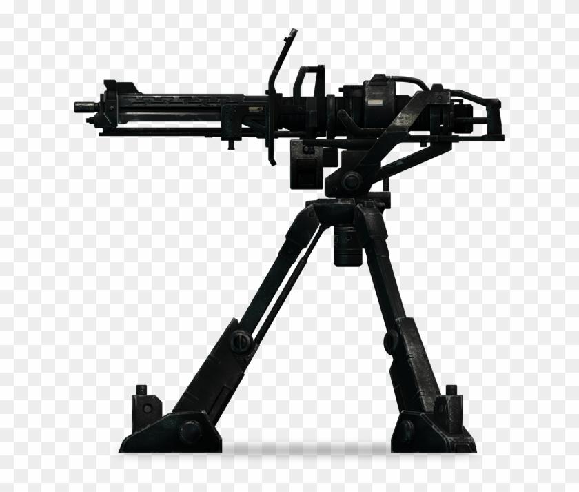 Mounted Gun Png - Halo Machine Gun Clipart #157425