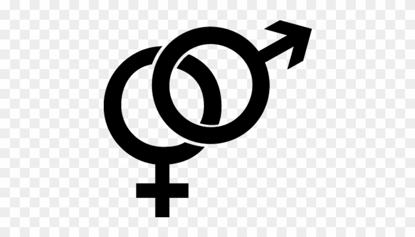 Male Female Symbol, Gender, Female Male Symbol, Sex - Gender Symbol Clipart #159038