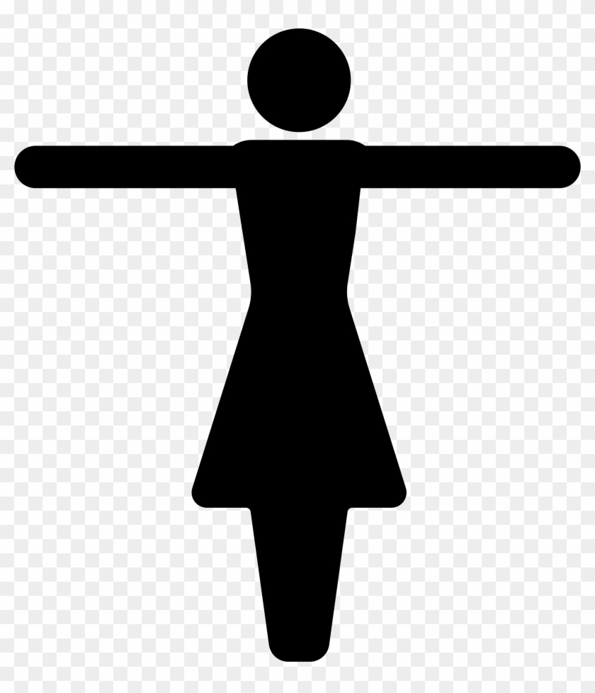 This Free Icons Png Design Of Arms Out Female Symbol Clipart #159055