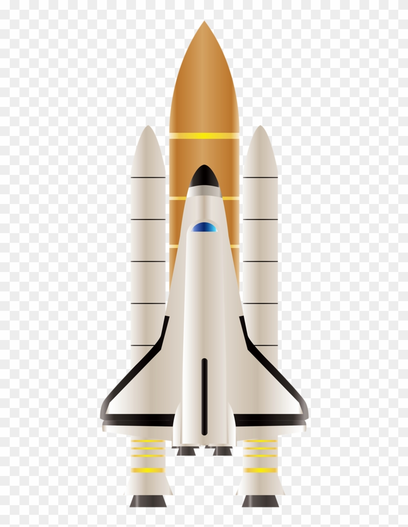 Space Shuttle - Space Icons Clipart #159414