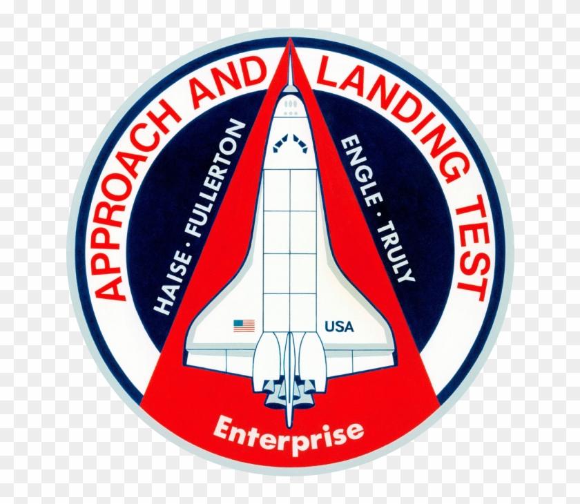 Nasa Space Shuttle Program Images Approach Landing - Enterprise Space Shuttle Patch Clipart #159758