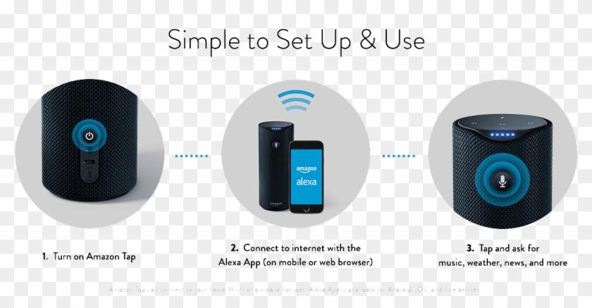 Amazon Tap Setup - Echo Tap Set Up Clipart #1500011