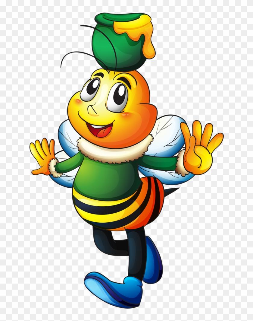 Bumble Bee Clipart Bumble Bees Cartoon Bee Desenho De Abelha