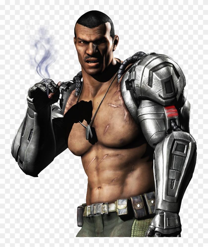Jax Mkx Mortal Kombat X Tournament Costume Skin Render Jax
