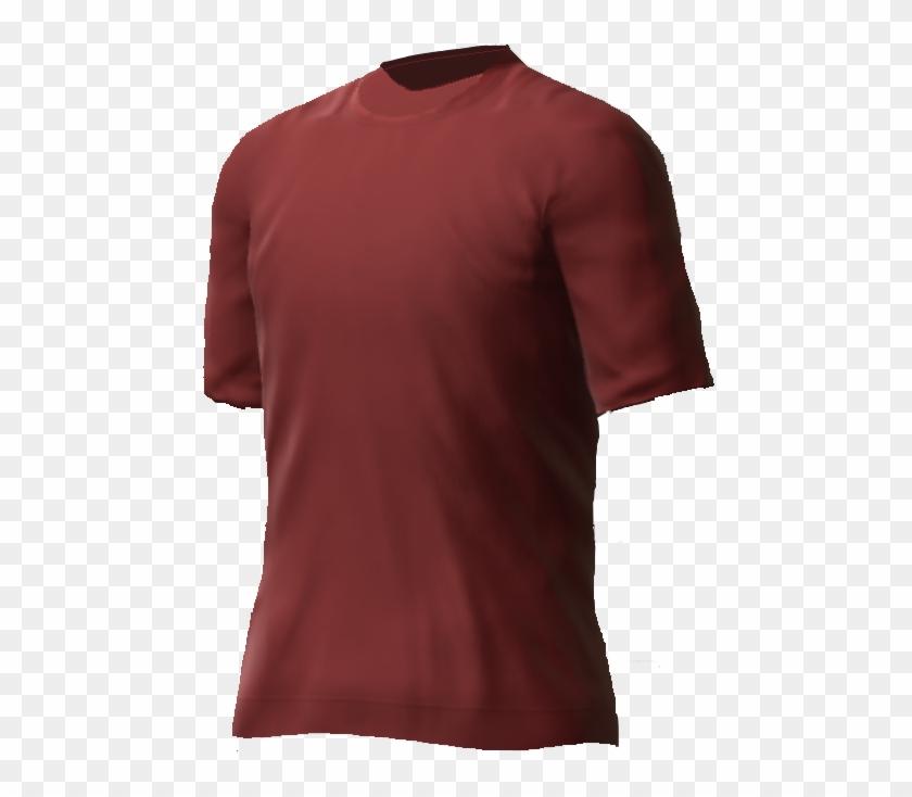 Maroon T-shirt Png - Active Shirt Clipart #1501263