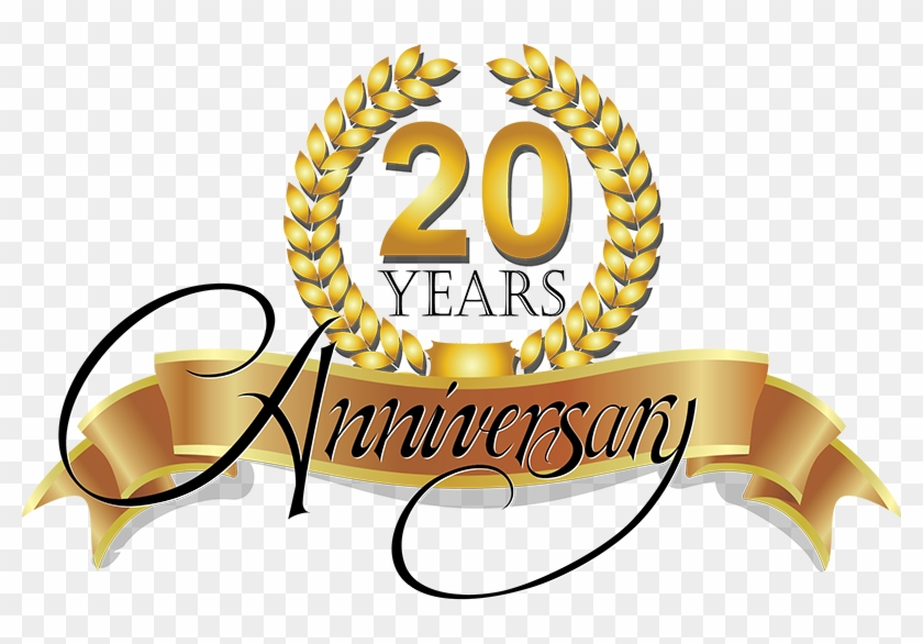Service Advertising Clip Art - Service Anniversary 20 Years - Png Download #1503497