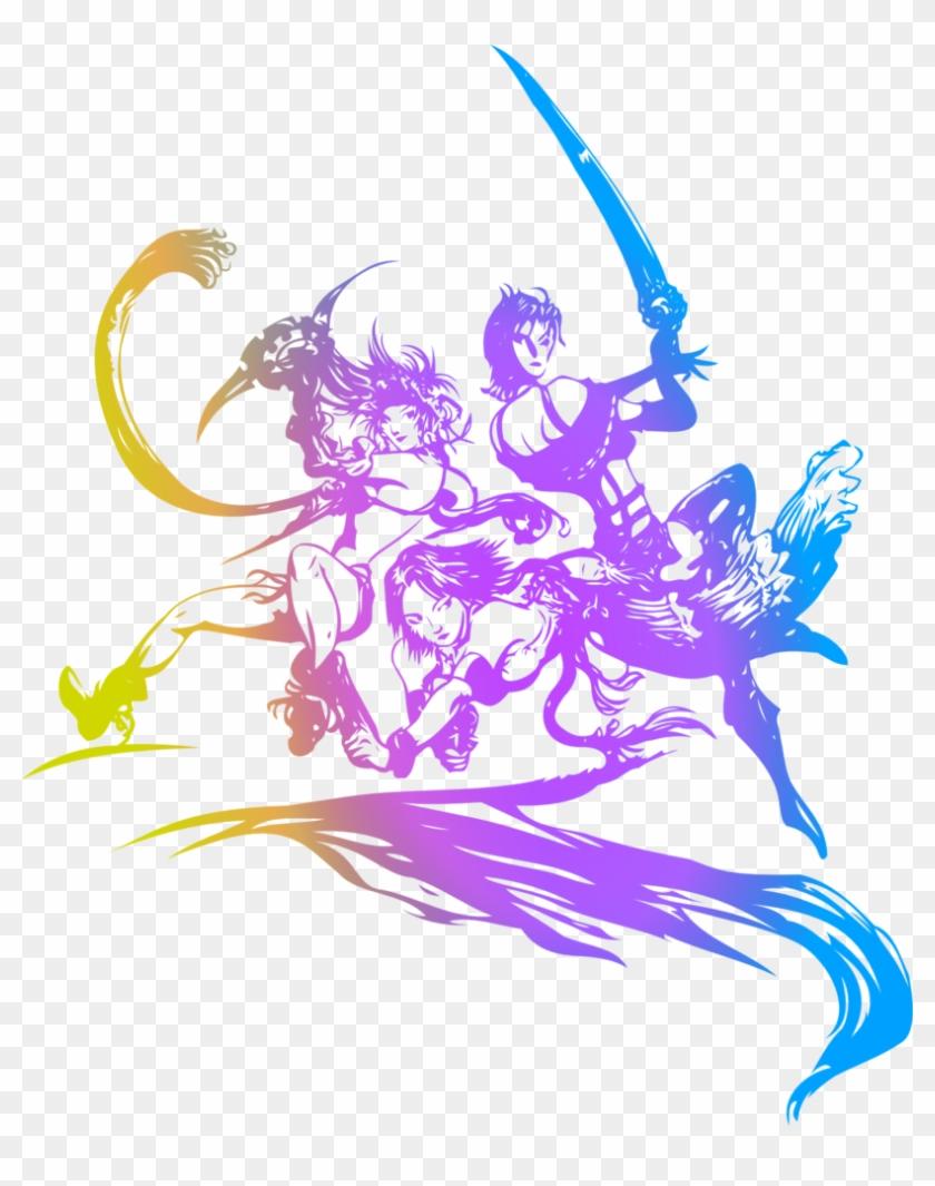 Final Fantasy X Logo Png - Final Fantasy X 2 Title Clipart #1503665