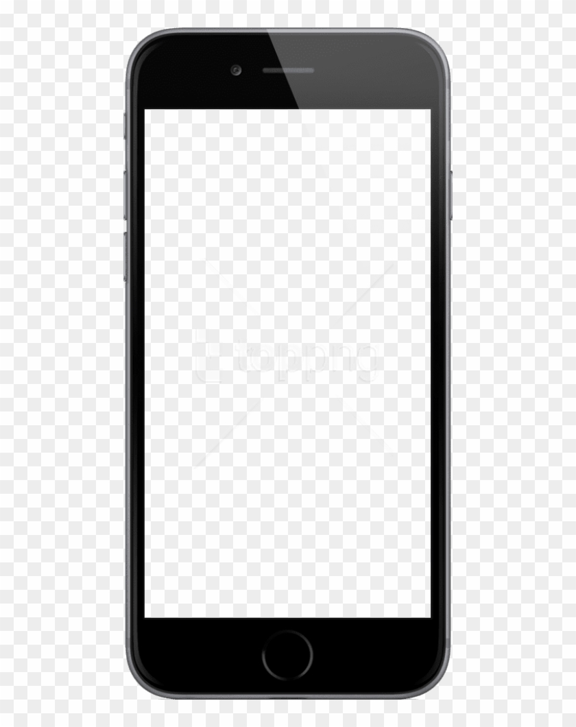 Free Png Download Iphone Png Black And White S Png - Iphone Screen For Powerpoint Clipart #1506703