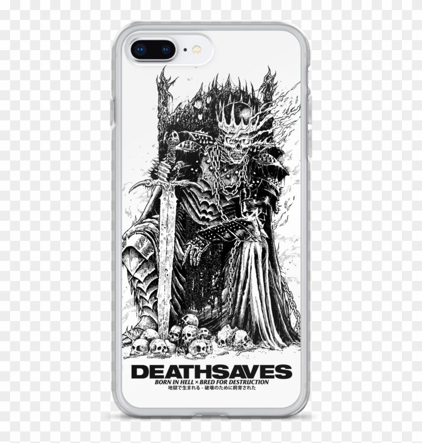 Death Knight [white] Iphone Case - Mobile Phone Case Clipart #1507235