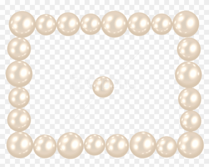 Free Png Pearl Frame Png Images Transparent - Pearl Frame Png Clipart #1507683