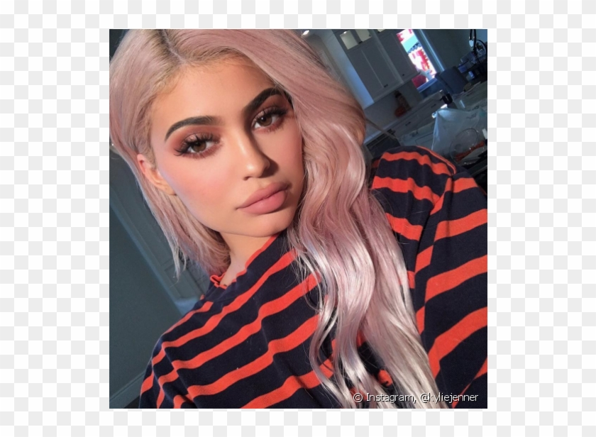 Rosa Azul Preto Kylie Jenner Full Face Of Makeup Clipart