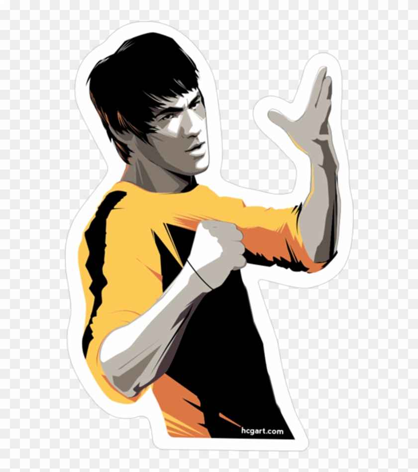 Lee Sticker By Craig Drake Bruce Lee Hd Wallpaper For Iphone