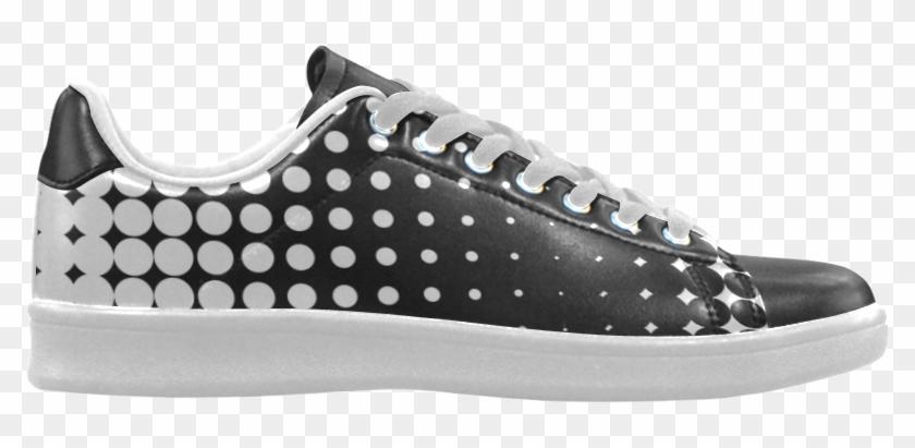 Black And White Halftone Pattern By Artformdesigns - Running Shoe Clipart #1518888