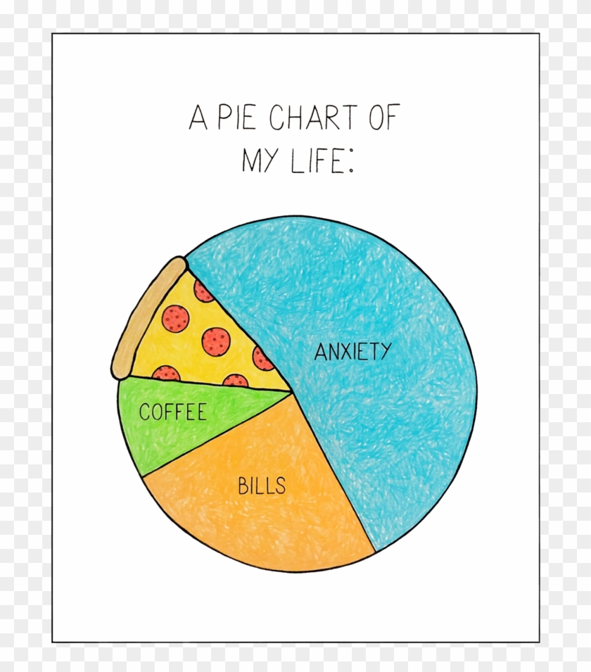 Diagram Of My Life Clipart #1518912