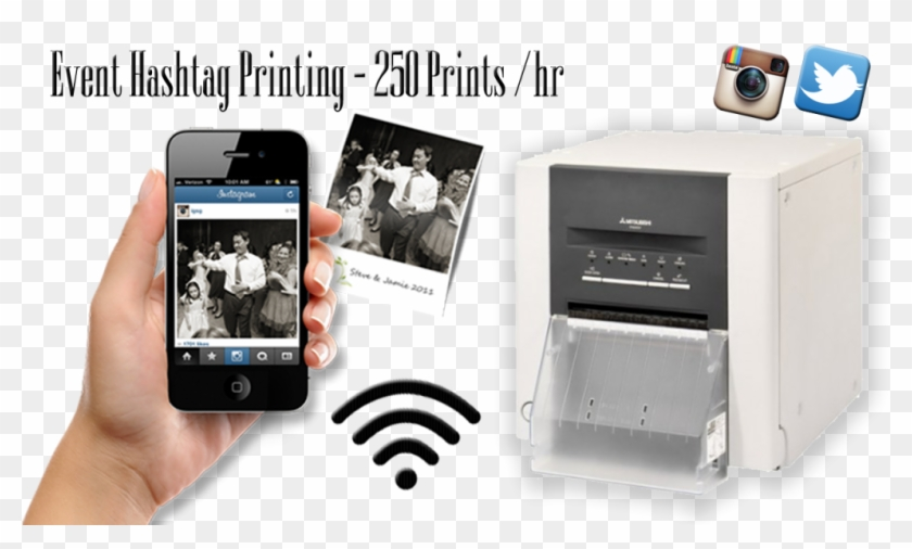 Hashtag - Instagram Photo Hashtag Print Clipart #1519785